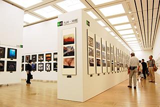 第62回二科会写真部展(第99回二科展)会場風景