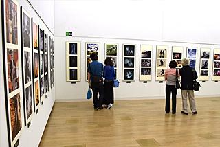第63回二科会写真部展(第100回二科展)会場風景