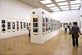 第64回二科会写真部展(第101回二科展)会場風景