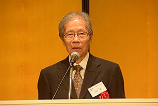 一般社団法人二科会デザイン部 理事長・田野 勝様のご祝辞