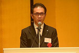 キヤノン マーケティングジャパン株式会社 田中 伸治様のご祝辞